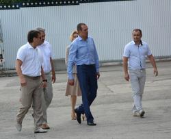 Глава Чувашии Игнатьев М. с рабочим визитом посетил завод Электросила