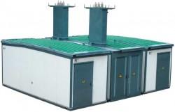 Подстанции трансформаторные комплектные наружной установки в утепленных мобильных блок-контейнерных зданиях с понижающими 6(10)/0,4 кВ или повышающими 0,4/6(10) кВ трансформаторами мощностью до 2500 кВА типа КТПНУ
