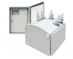 Автоматический пункт секционирования воздушных линий (реклоузер вакуумный) на напряжение 10(6) кВ типа ПСВЛ с возможностью коммерческого учета электрической энергии