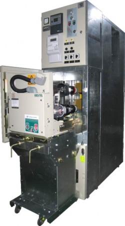 Устройства распределительные комплектные внутренней установки на напряжение 6(10) кВ из шкафов типа К-02-3МК
